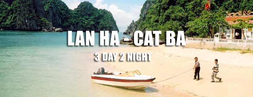Lan Ha Bay Cat Ba island 3 day tour Hai Phong departure