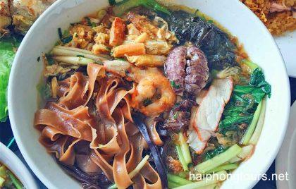 Noodle bow at Banh Da Cua Ba Cu