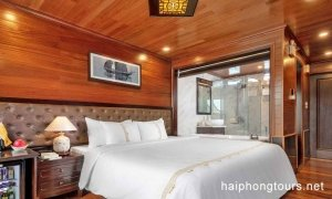 Double room prestige suite Hai Phong Vspirit Premier Cruise