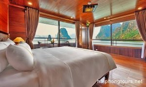 Premium Suite Balcony room Hai Phong Vspirit Premier Cruise