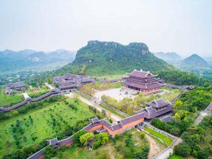 Bai Dinh pagoda Tran An Lanscape Complex day tour