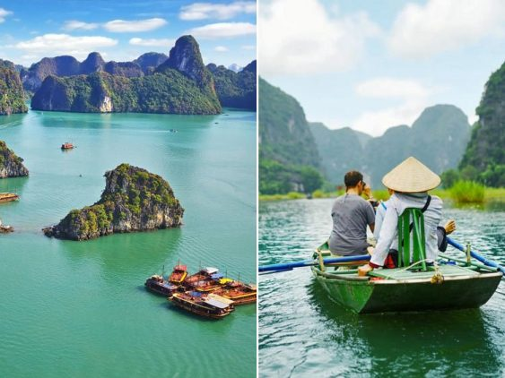 Combo tour Ninh Binh Halong bay 2 day