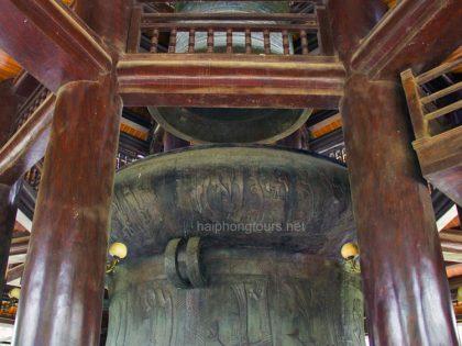 bronze drum bai dinh pagoda
