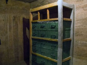 document storage in hospital cave