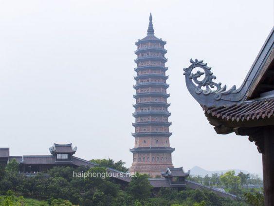 stupa in bai dinh pagoda