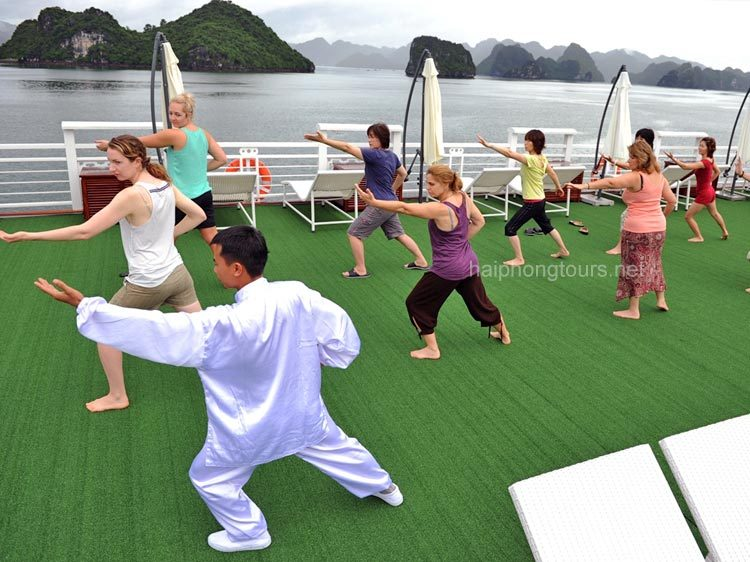 taichi excercise onboard