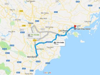 Transportation from Halong to Ninh Binh