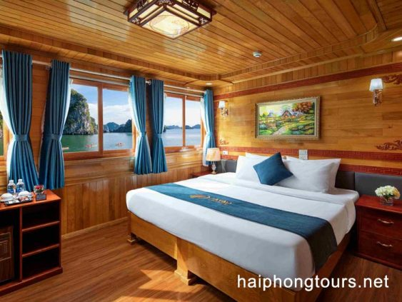Double room in La Paci cruise