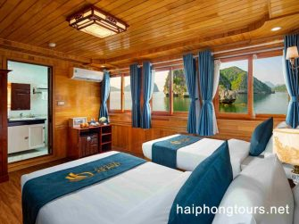 Twin room in La Paci cruise