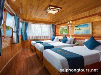triple room in La Paci cruise