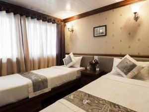 Twin room Halong Phoenix cruise